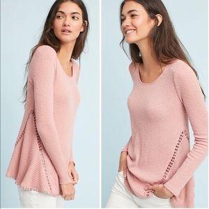 ERI & ALI | Waffle Knit Sweater